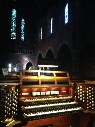 The Advent's historic Aeolian-Skinner organ