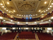 Interior of Usher Hall, Edinburgh