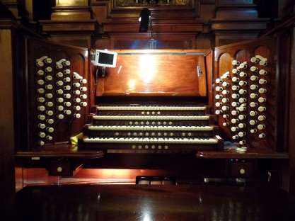 Usher Hall organ: 1914 Norman and Beard