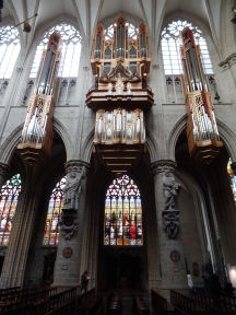 2000 Grenzing organ, Cathédrale Saints-Michel-et-Gudule, Brussels
