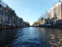 Beautiful views from the canal ride, Amsterdam